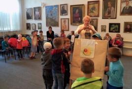 Занятие в картинной галерее «Мир искусства»