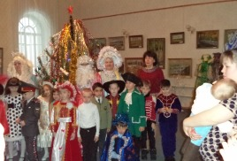 Новогодняя сказка в музее «Новогодний переполох»