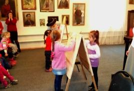 культурно – образовательная программа «Мир искусств»: тема «Портрет»