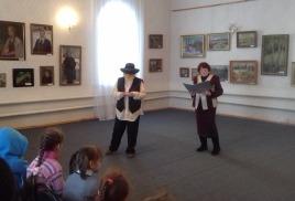 занятие «Петровская художественная галерея»