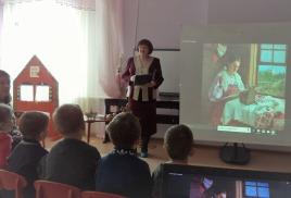 культурно – познавательная программа «Мир искусств»: «История вышивки»