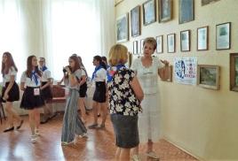 экскурсии с участниками второго Международного слета панфиловских школ СНГ «Юные сердца»